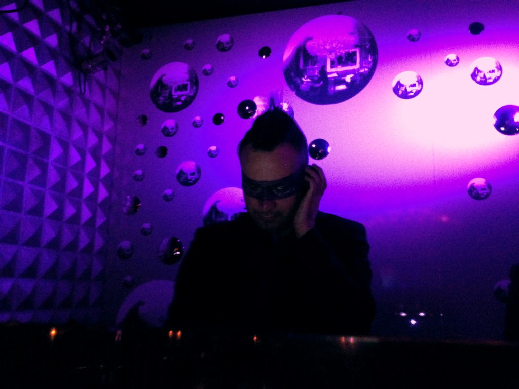 DJ Luis CzG at Purple Christmas, 2012