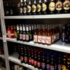 Imported Beer on a Shelf